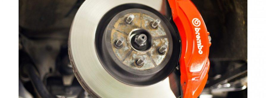 Замена тормозных колодок