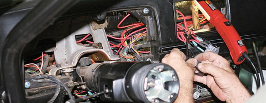 Ремонт и восстановление электропроводки автомобиля