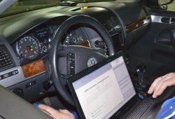 Диагностика автомобиля Volkswagen Touareg в Минске