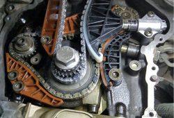 Замена цепи ГРМ Volkswagen Caddy