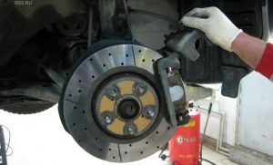 Проверка тормозной системы Volkswagen Tiguan