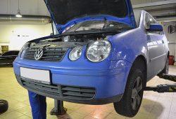 Проверка тормозной системы Volkswagen Polo