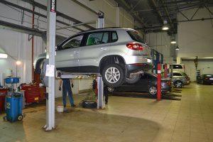 Диагностика автомобиля Volkswagen Tiguan