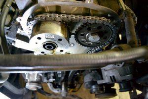 Замена цепи ГРМ Volkswagen Tiguan