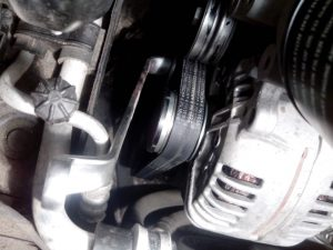 Замена генератора Volkswagen Polo
