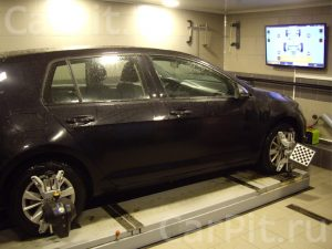 Развал-схождение Volkswagen Golf