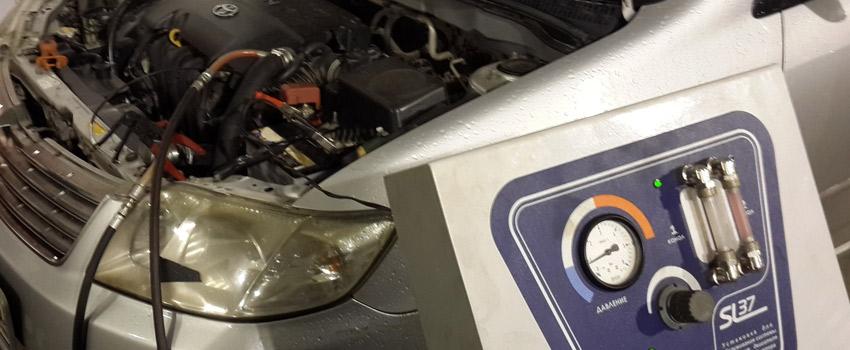 Промывка системы охлаждения Peugeot