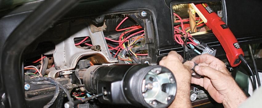 Ремонт и восстановление электропроводки автомобиля KIA в Минске