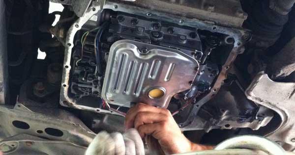 Замена масла в АКПП Toyota в Минске