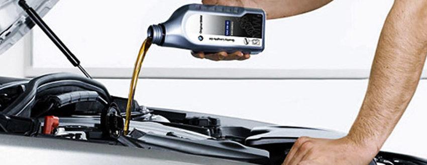 Замена масла и фильтров бензинового двигателя