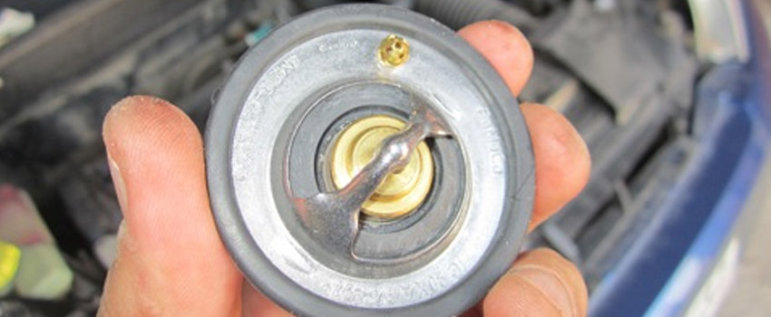 Замена термостата Peugeot