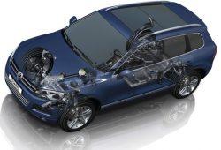 Развал-схождение Volkswagen Touareg в Минске