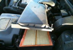 Замена воздушного фильтра Volkswagen Golf