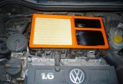 Замена воздушного фильтра Volkswagen Polo