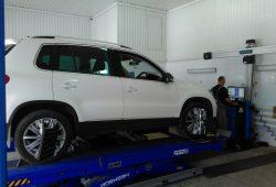 Развал/схождение Volkswagen Tiguan