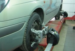 Развал-схождение Volkswagen Caddy