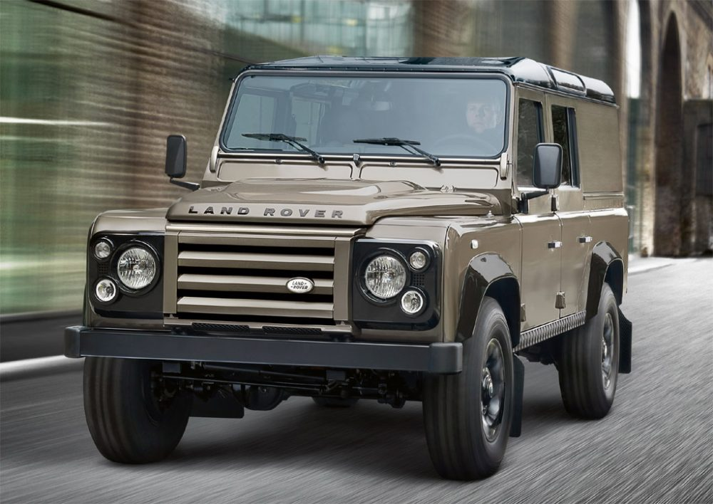 Ремонт Land Rover Defender в Минске