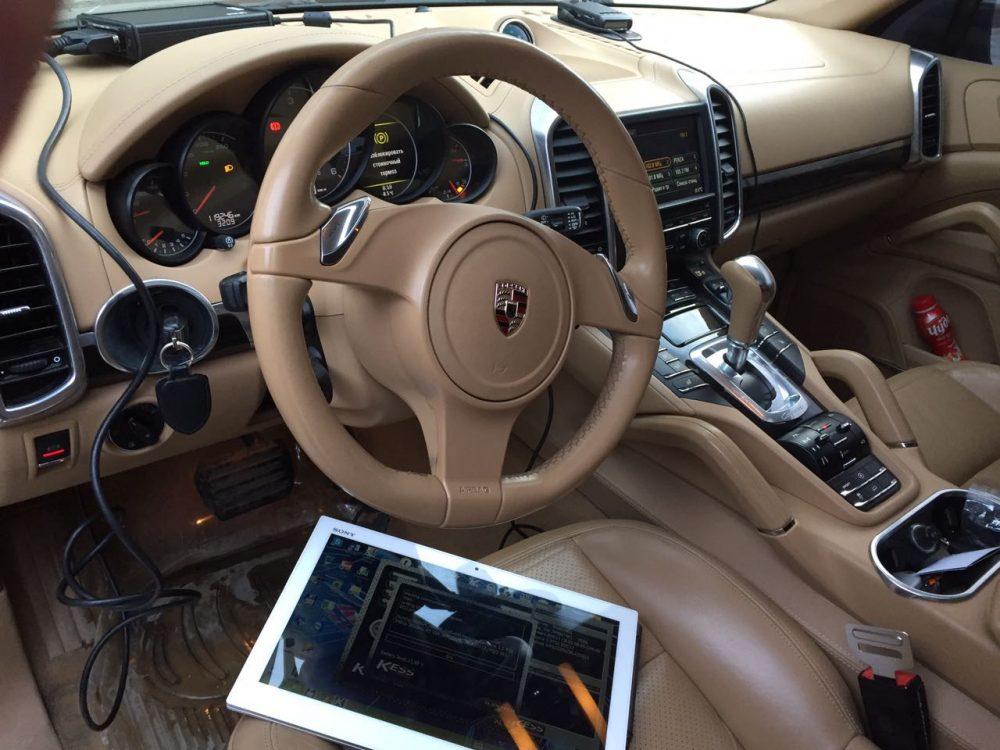 Чип тюнинг Porsche