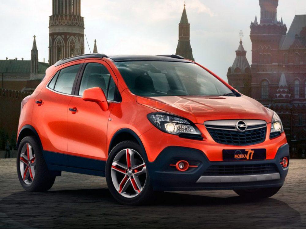 Ремонт Opel MOKKA в Минске