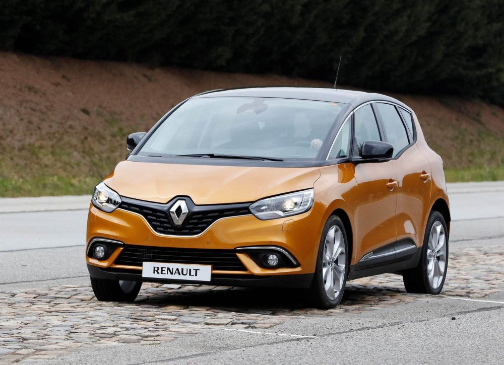 Ремонт Renault SCENIC в Минске