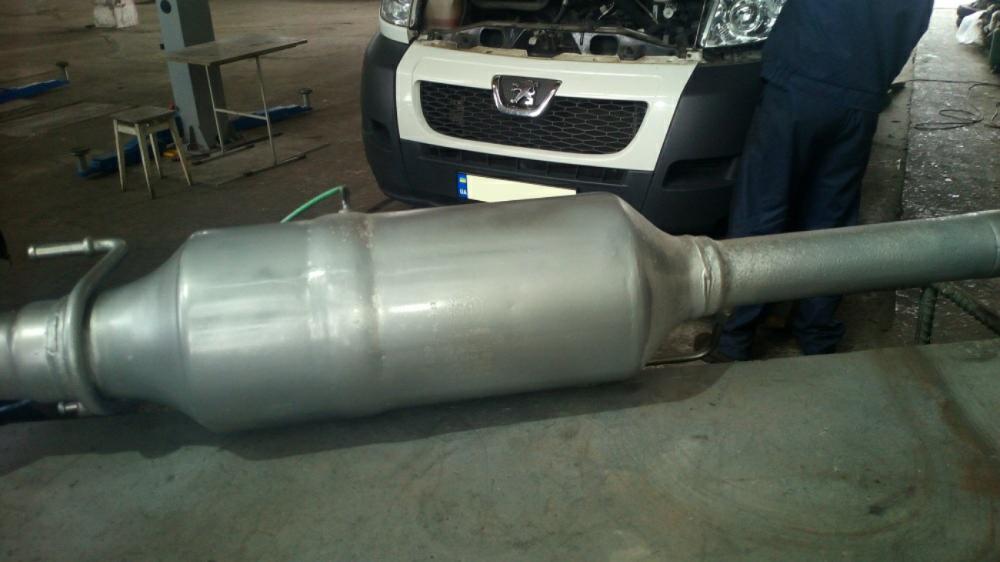 Удаление сажевого фильтра Peugeot