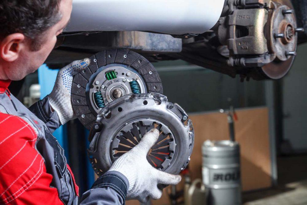 Замена сцепления Peugeot