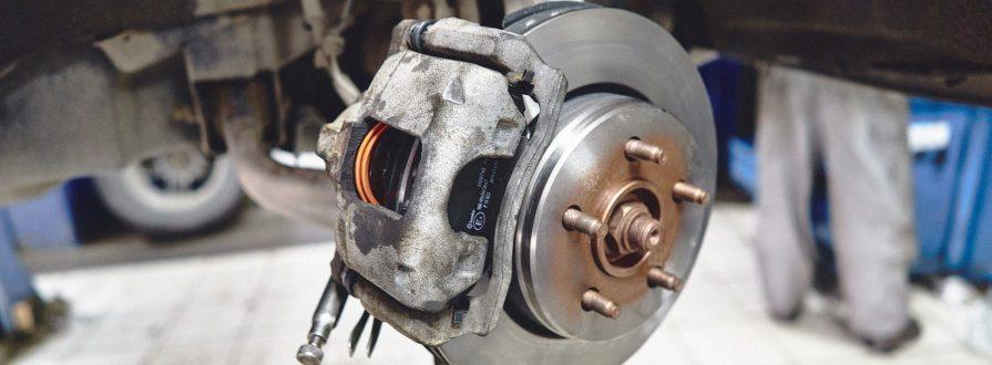 Замена тормозных дисков цена в Минске