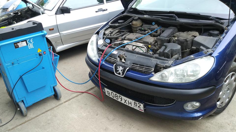 Заправка автокондиционеров Peugeot