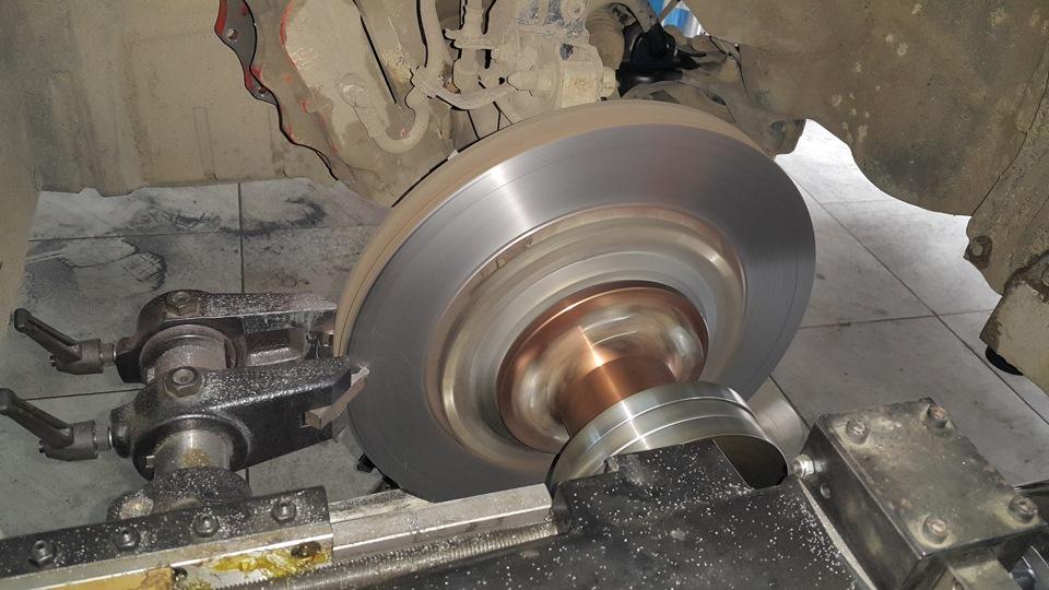 Проточка тормозных дисков Peugeot