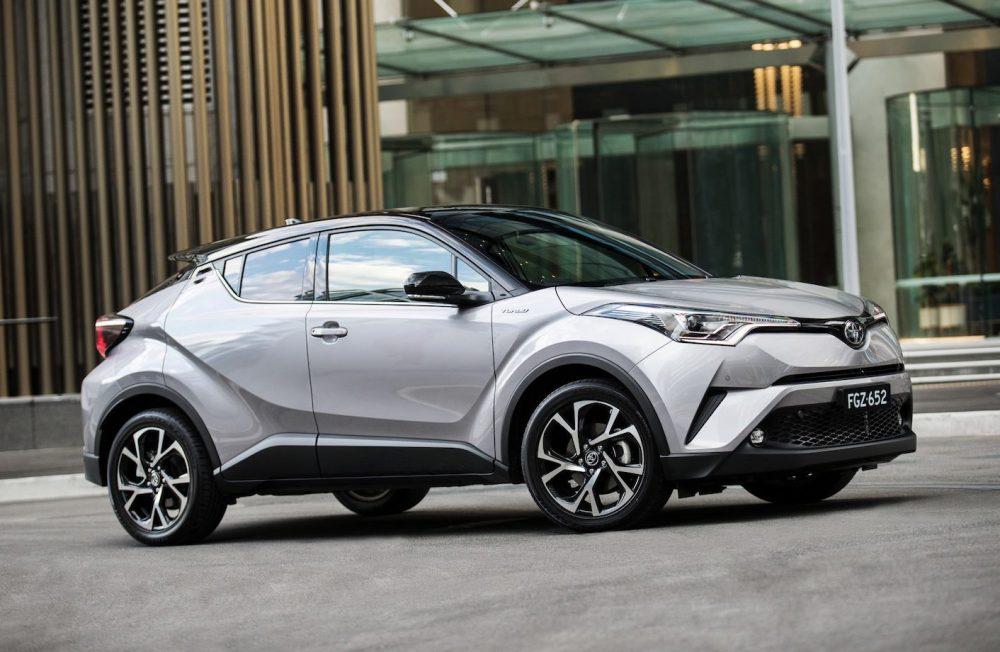 Ремонт Toyota C-HR в Минске