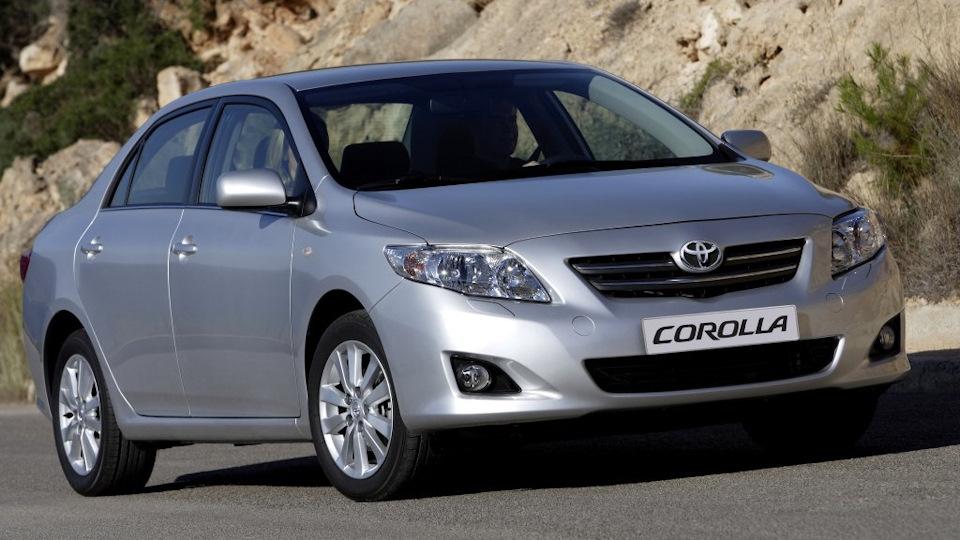 Ремонт Toyota COROLLA в Минске