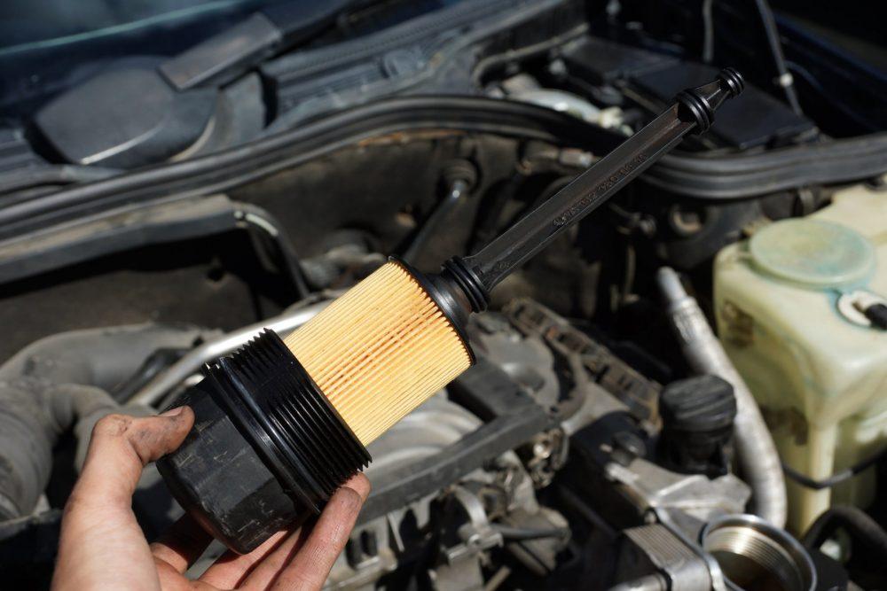 Замена масла бензинового двигателя Citroen в Минске