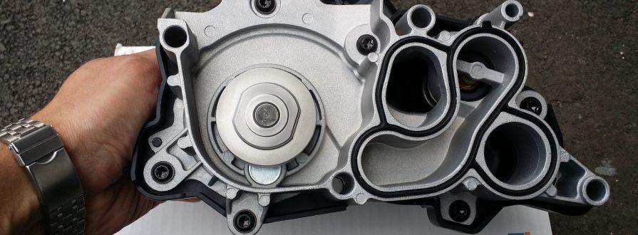 Замена насоса охлаждения Peugeot