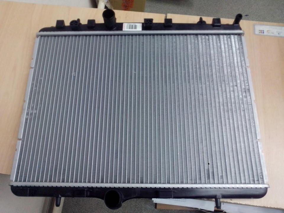 Замена радиатора охлаждения Skoda в Минске