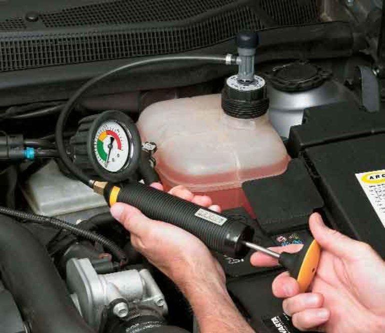 Диагностика системы охлаждения Ford в Минске