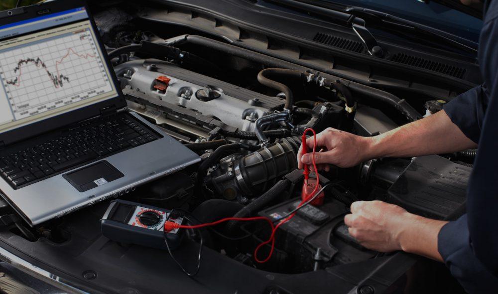 Компьютерная диагностика двигателя Ford в Минске