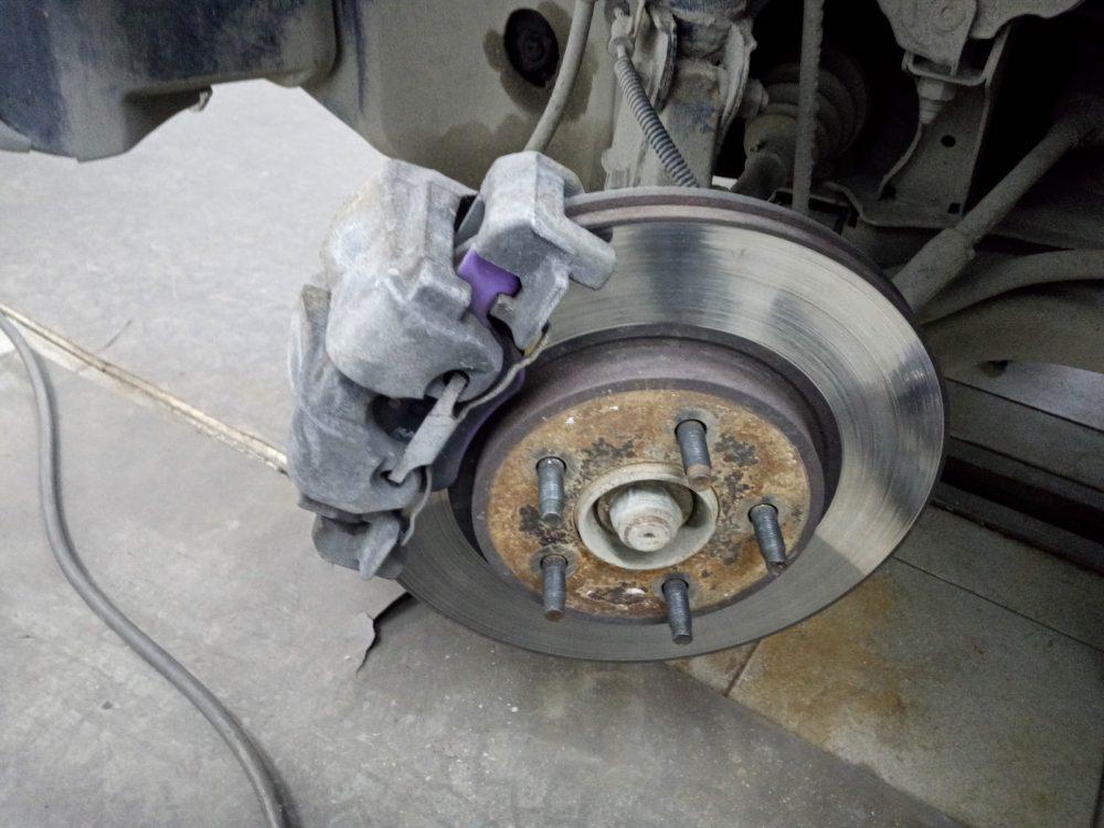Проточка тормозных дисков Ford в Минске