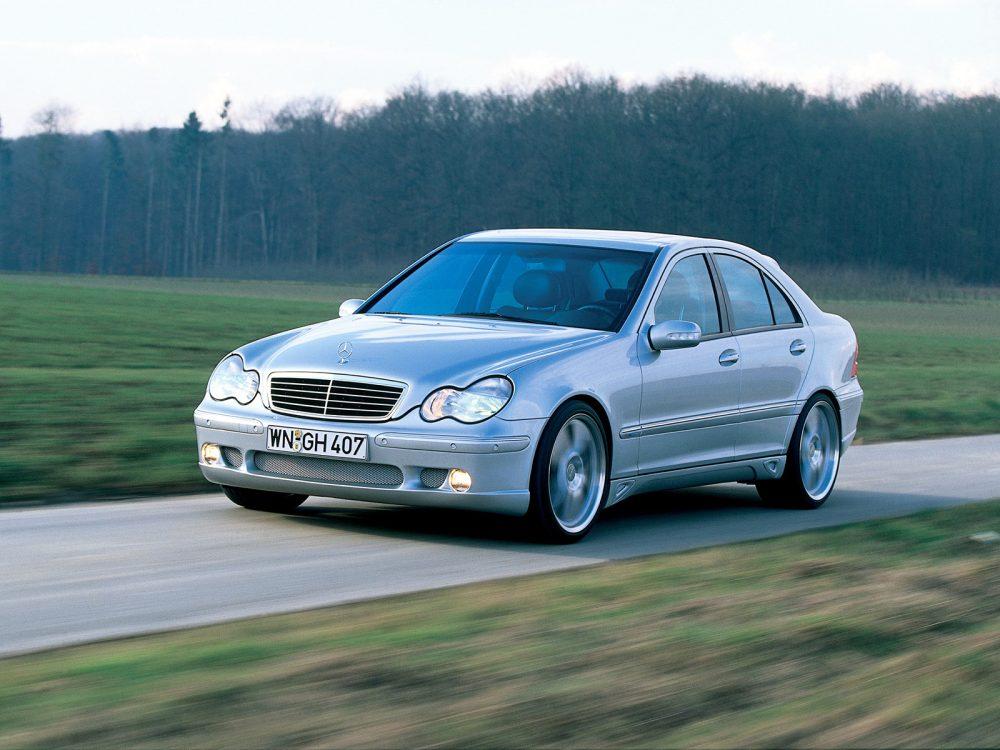 Ремонт Mercedes C-CLASS в Минске