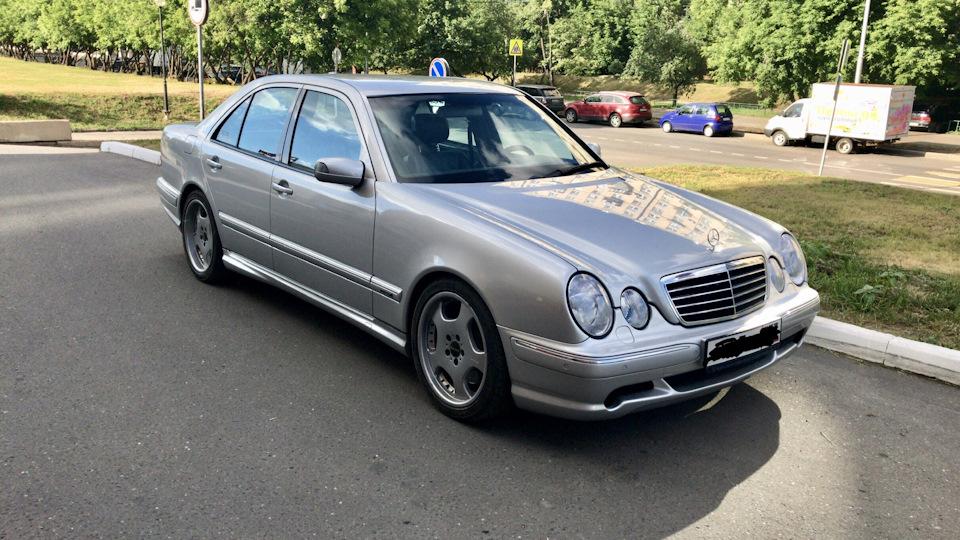 Ремонт Mercedes E-CLASS в Минске