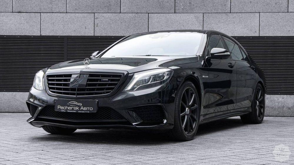 Ремонт Mercedes S-CLASS AMG в Минске
