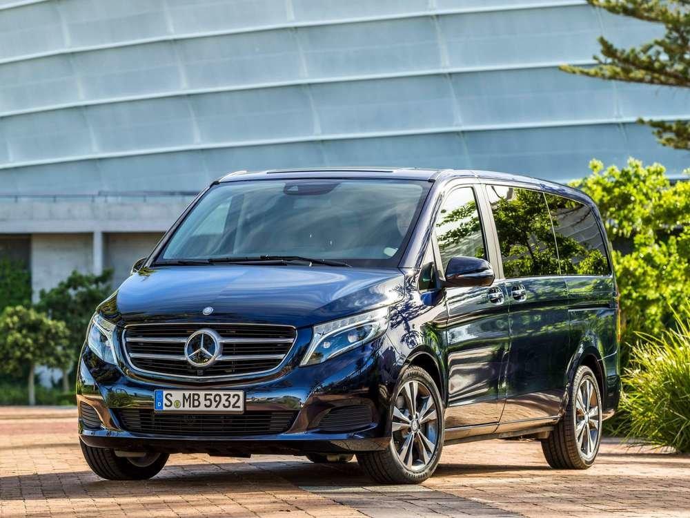 Ремонт Mercedes V-CLASS в Минске