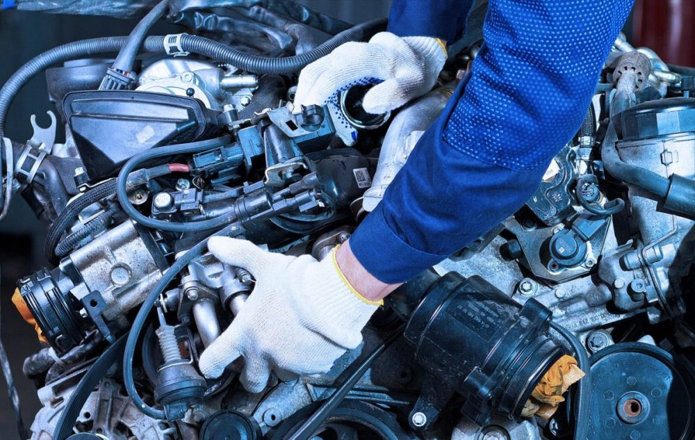 Замена двигателя Ford в Минске