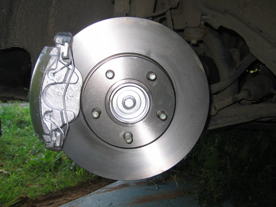Замена тормозных дисков Ford в Минске