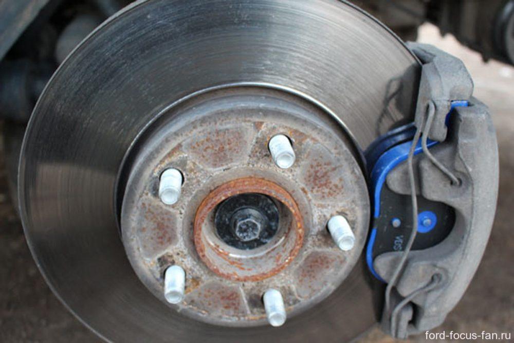 Замена тормозных колодок Citroen в Минске