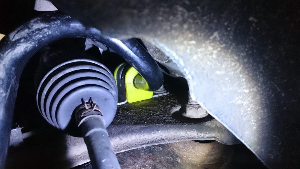 Замена втулок стабилизаторов Toyota в Минске