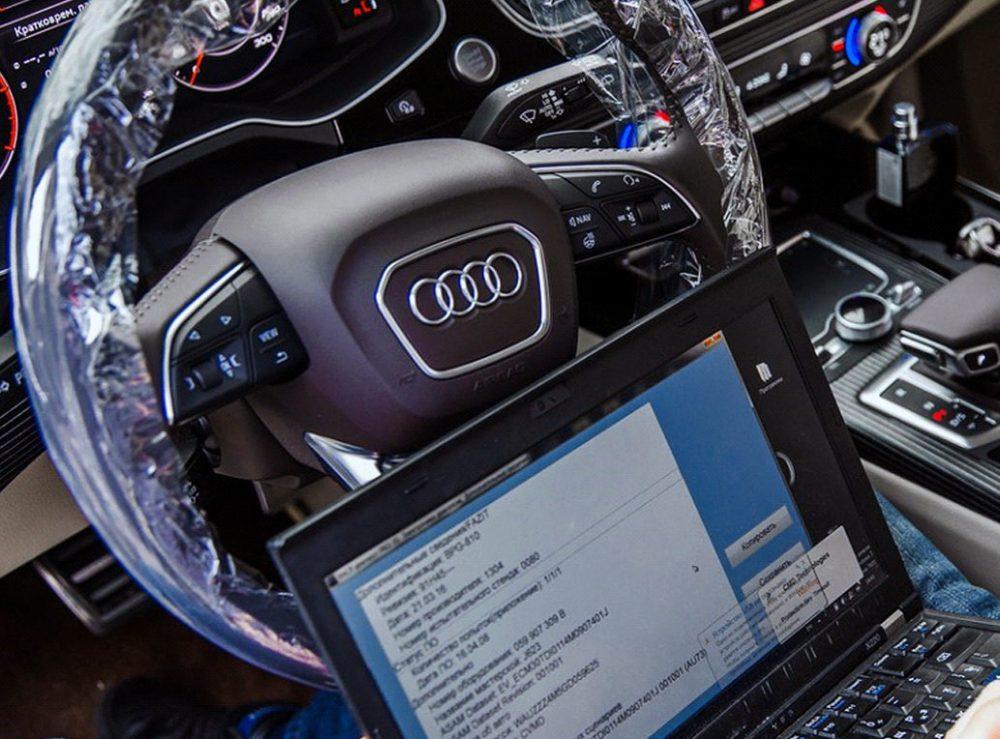 Диагностика Audi в Минске