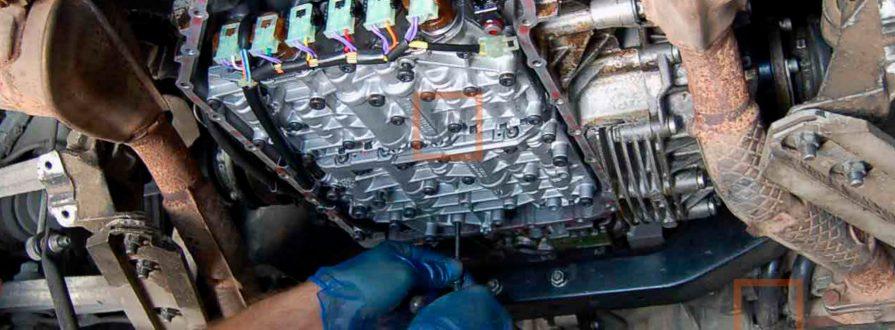 Ремонт механической коробки
