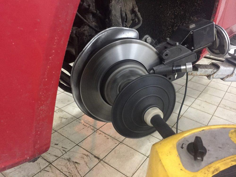 Проточка тормозных дисков Audi в Минске