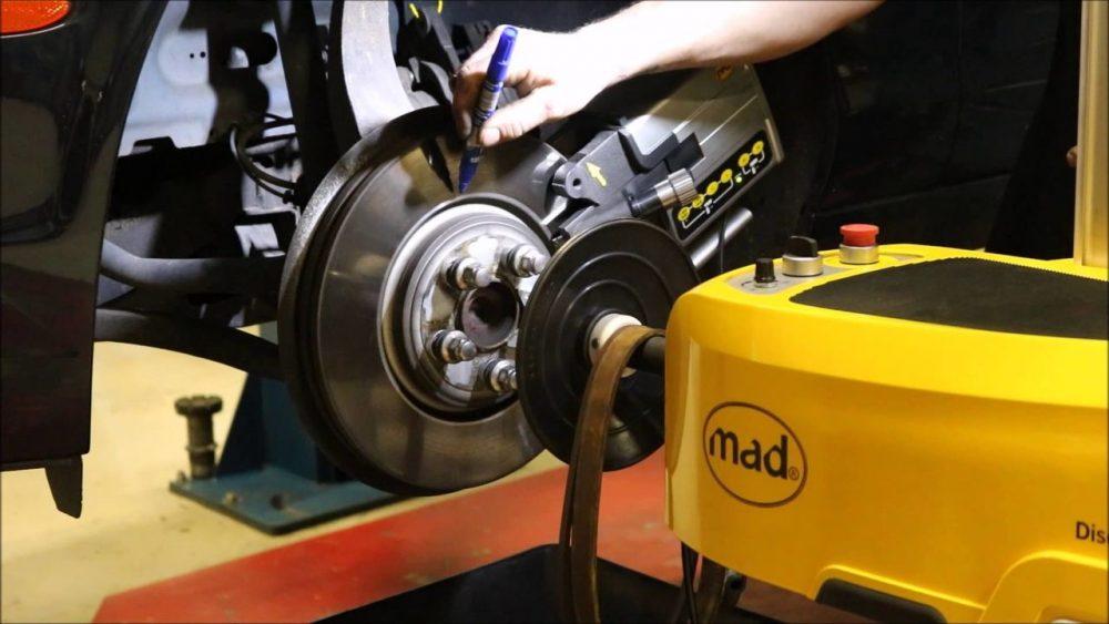 Проточка тормозных дисков Renault в Минске