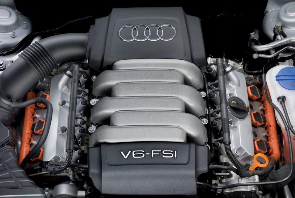 Ремонт бензиновых двигателей Audi в Минске